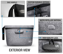 Load image into Gallery viewer, Gray Odor Proof Bag