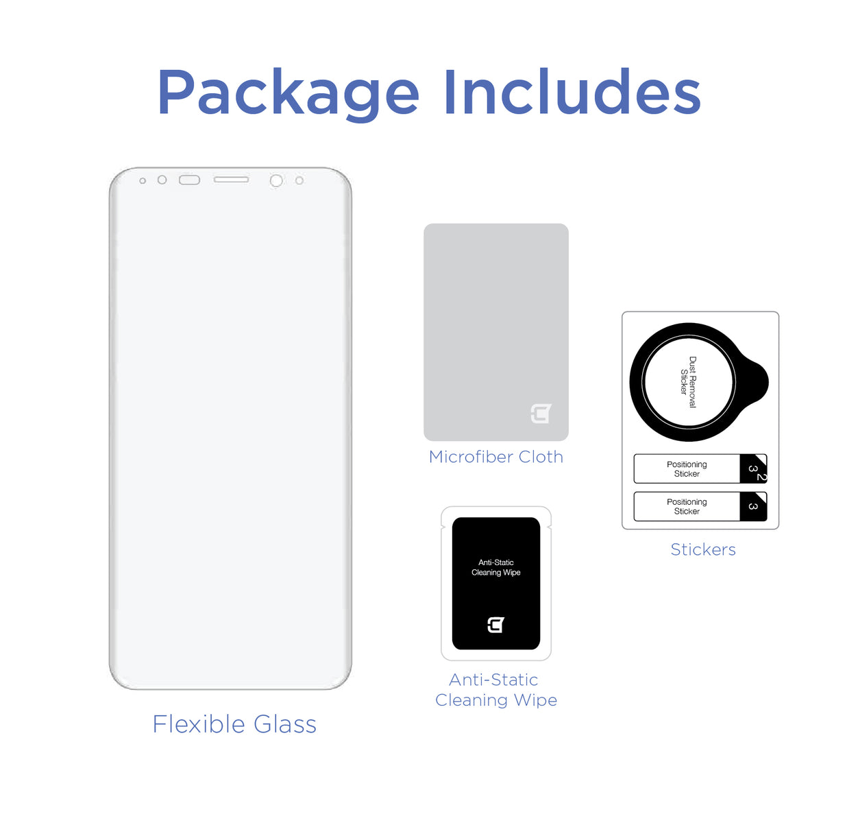 Screenflex - Flexible Screen Protector - iPhone 8 & 7