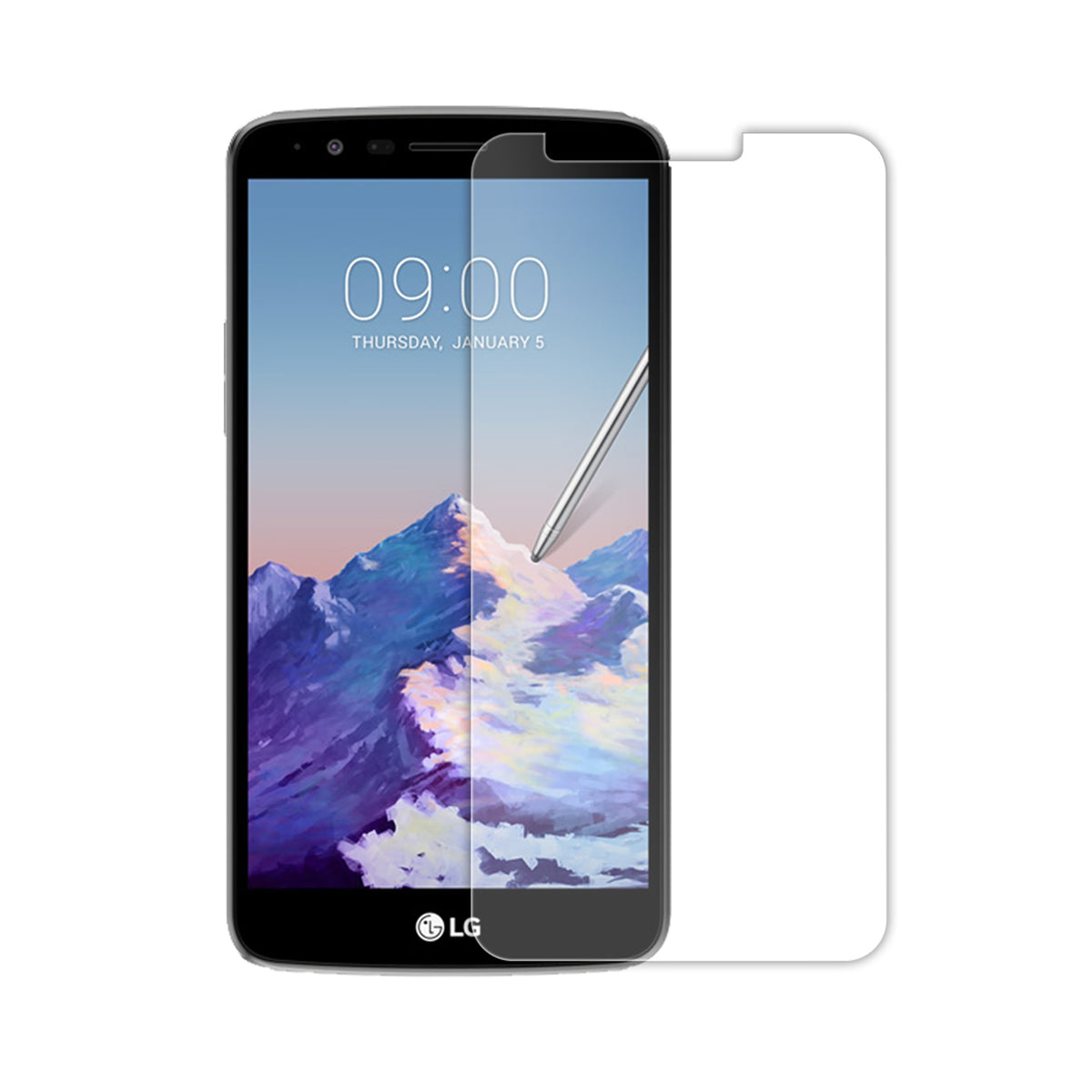 Screen Patrol - Tempered Glass - LG Stylo 3 Plus