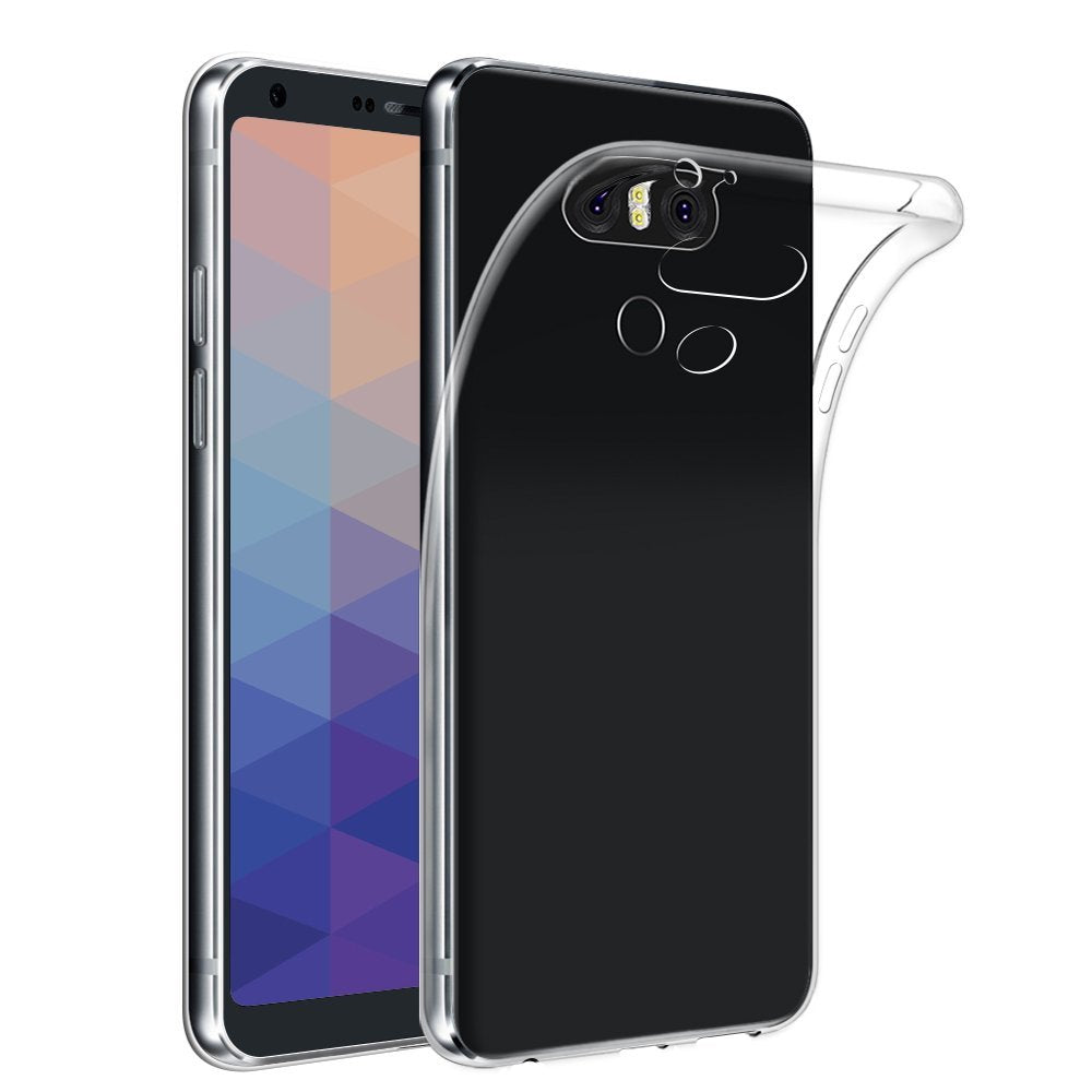 LG G6 Gel Case - Crystal Clear