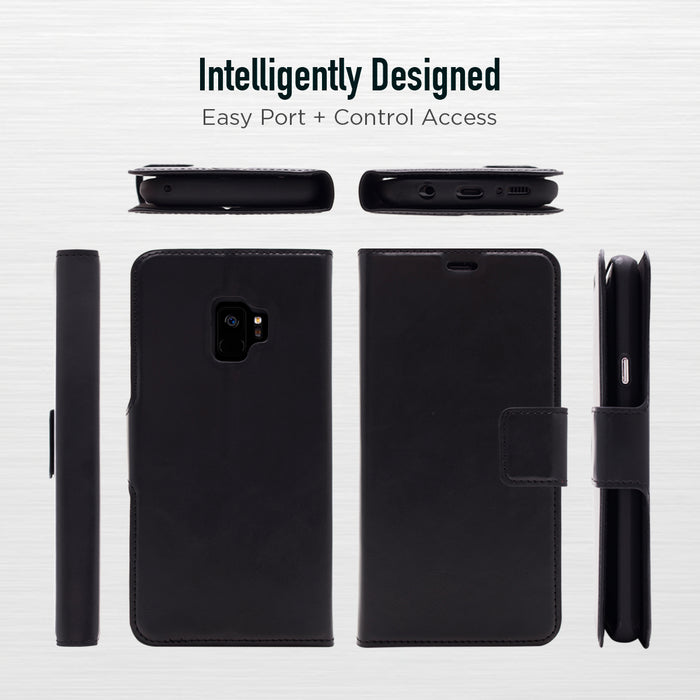 Bond St. Wallet Folio Case - Samsung Note 10 Plus - Black
