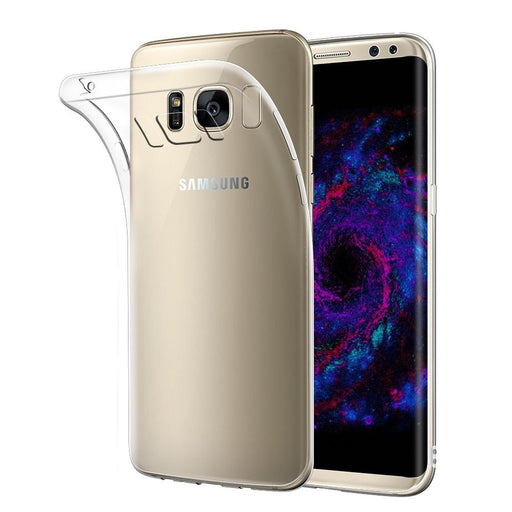 Samsung Galaxy S8 Gel Case - Crystal Clear