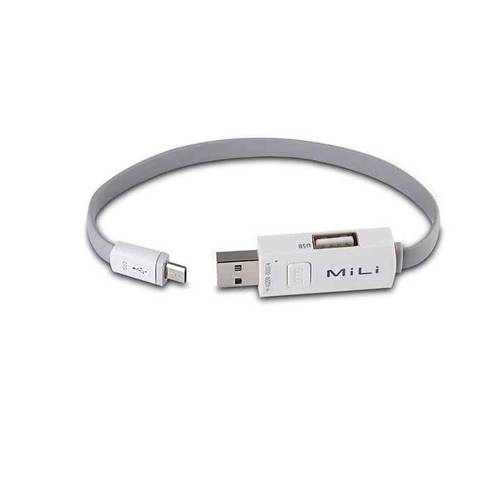 Micro USB 2.0 to USB 2.0 On-The-Go Cable
