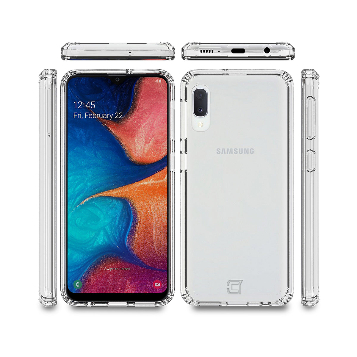 Fremont Clear Tough Case - Samsung A10e