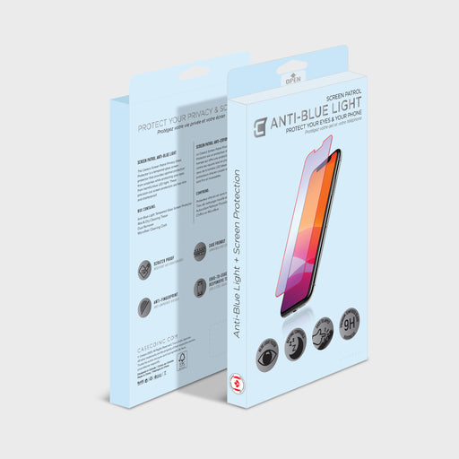 Screen Patrol Anti-Blue Light Tempered Glass - iPhone 7 Plus / 8 Plus