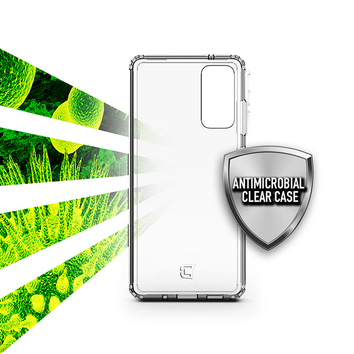 Antimicrobial Clear Case - Samsung Galaxy S21 Ultra