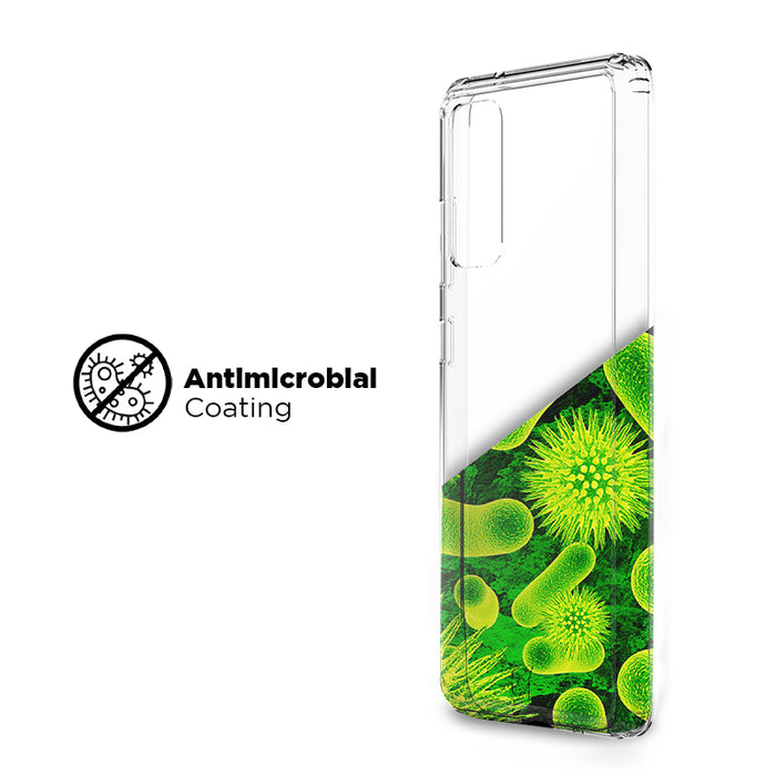 Antimicrobial Clear Case - Samsung Galaxy S20 FE