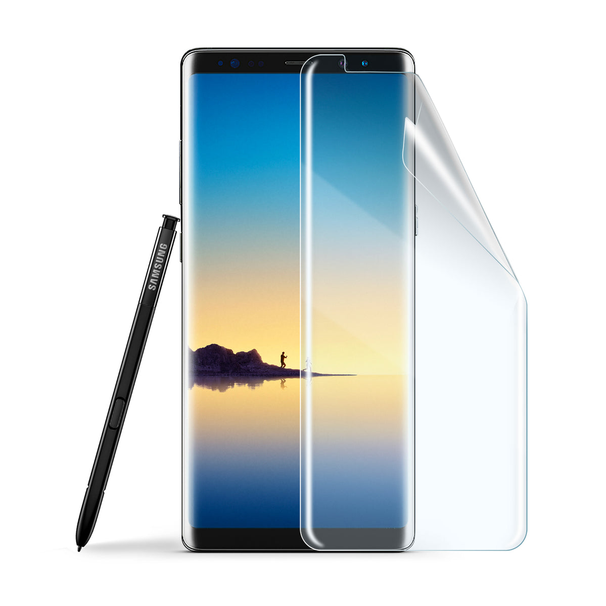 Screenflex - Flexible Screen Protector - Samsung Note 8