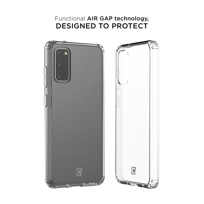 Fremont Clear Tough Case - Samsung Galaxy S20
