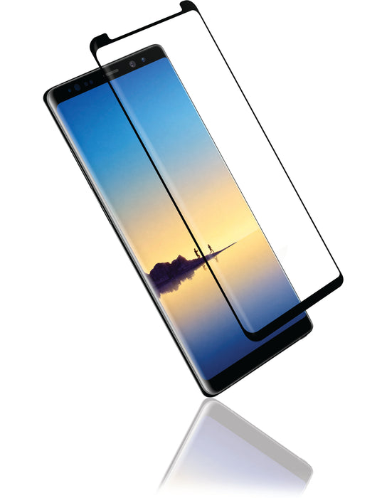 Samsung Note 10 - Case Friendly Curved Side Glue Tempered Glass