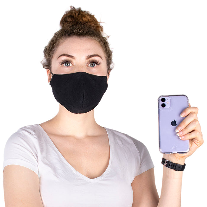 Double Layer Adjustable Breathable Face Mask - 100 pcs