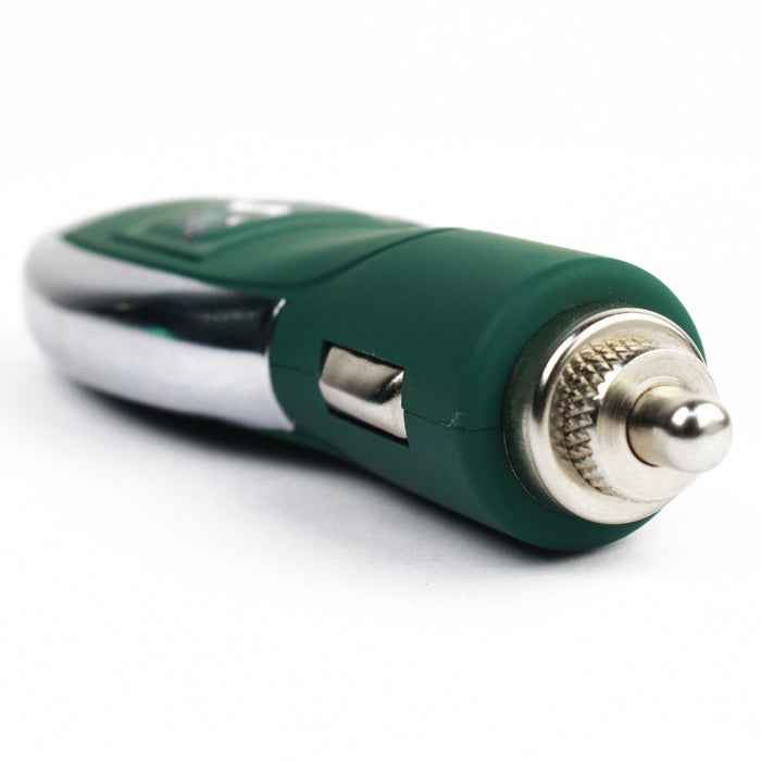 Saskatchewan Roughriders 2.1 Amp Car Charger - Green