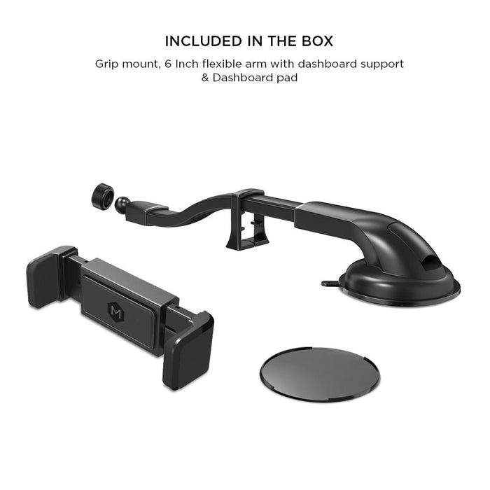Simpl Grip - Flexible Gooseneck Dash & Windshield Mount