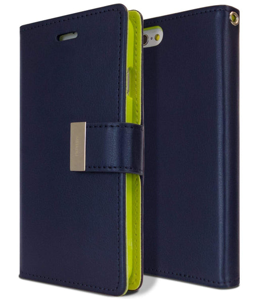 Rich Diary - iPhone 6S & 6 - Navy/Lime