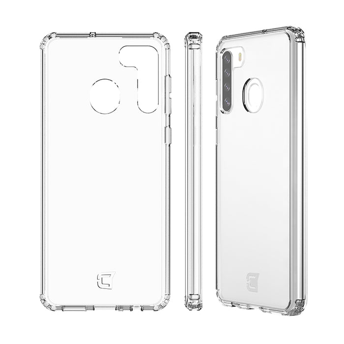 Fremont Clear Tough Case - Samsung A21