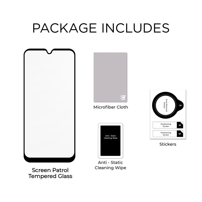 Samsung A50 - Screen Patrol - Tempered Glass