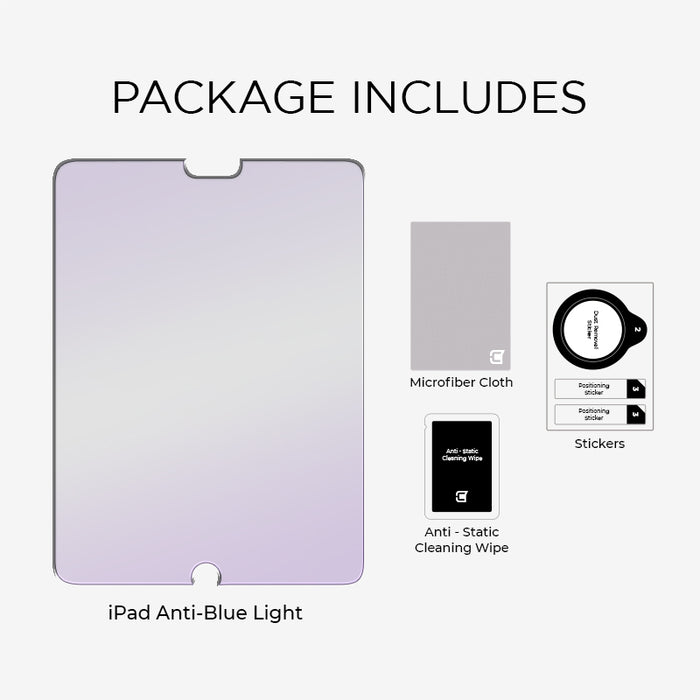 iPad Pro 12.9 (1st & 2nd Gen) - Anti-Blue Light Tempered Glass Screen Patrol