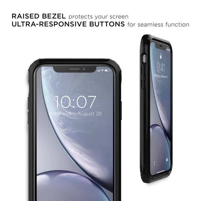 Fremont Antimicrobial Crystal Black Case - iPhone XR