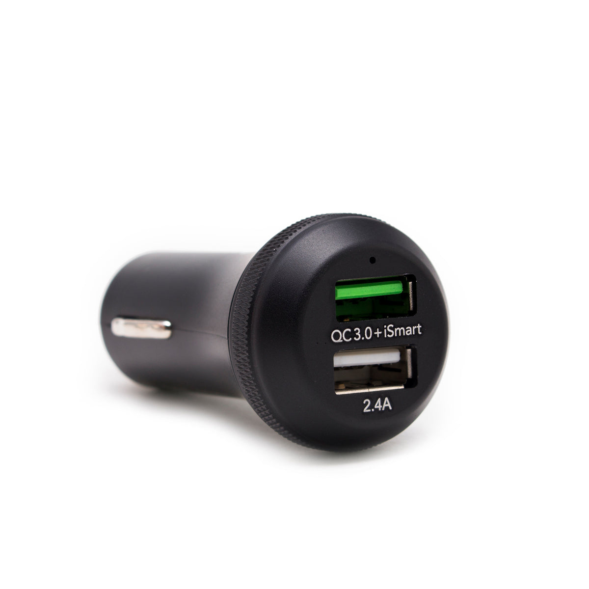 J3-Qualcomm Quick Charge 3.0 - 2 Port USB Car Charger