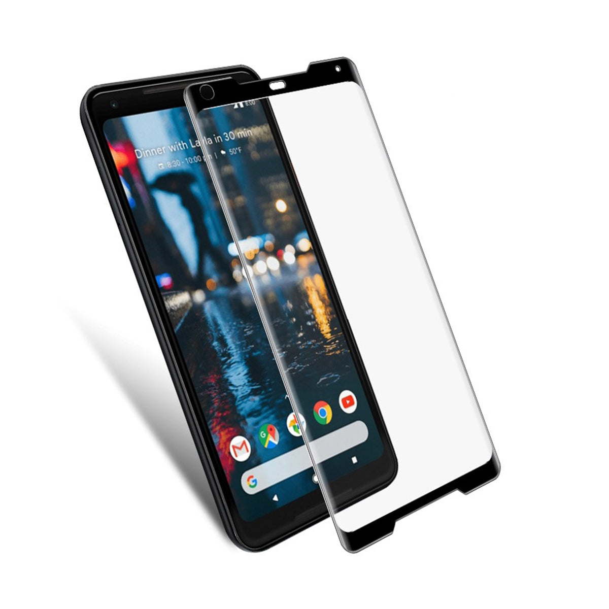 Screen Patrol - Curved Tempered Glass - Google Pixel 2 XL