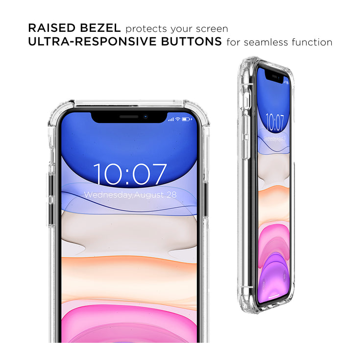 iPhone 11 Antimicrobial Clear Protective Case