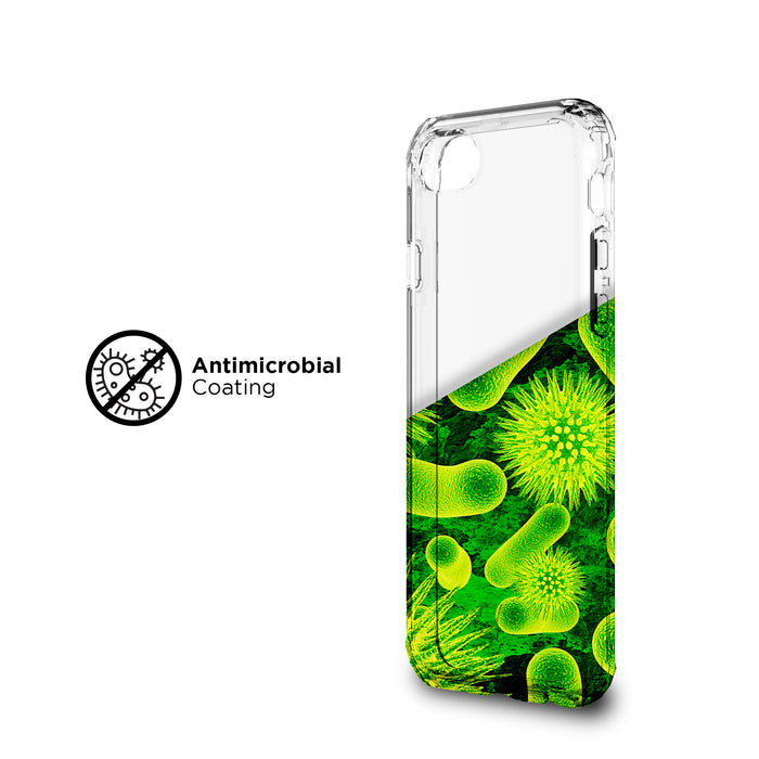 iPhone SE 2020/8/7 Antimicrobial Clear Protective Case