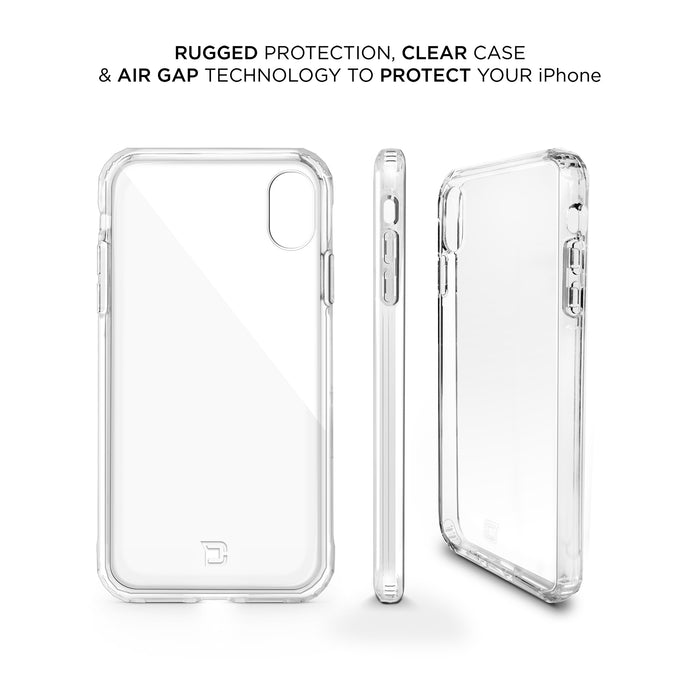 iPhone XR Antimicrobial Clear Protective Case