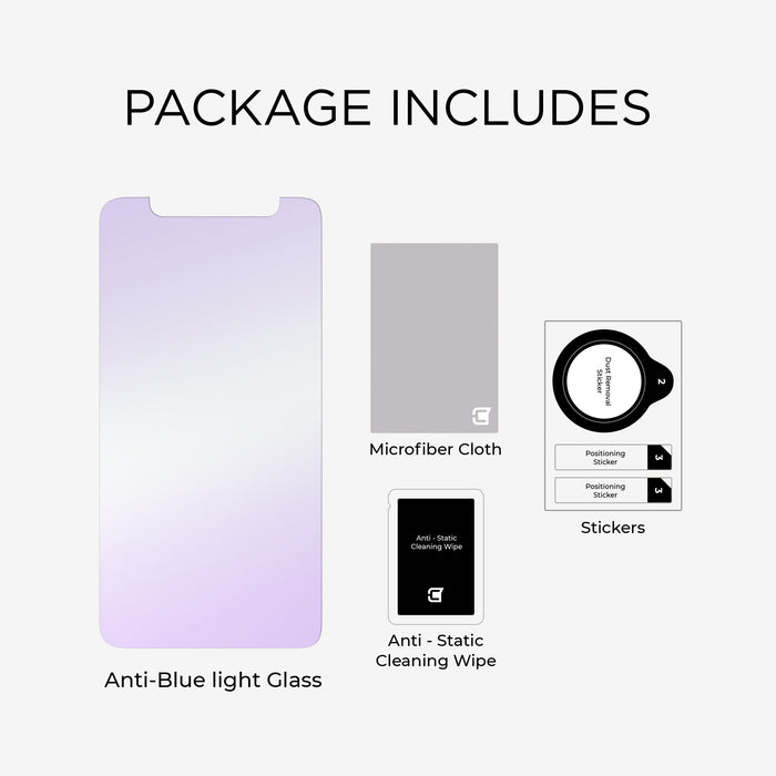 iPhone 11 Pro Max/XS Max - Anti-Blue Light Tempered Glass - Screen Patrol