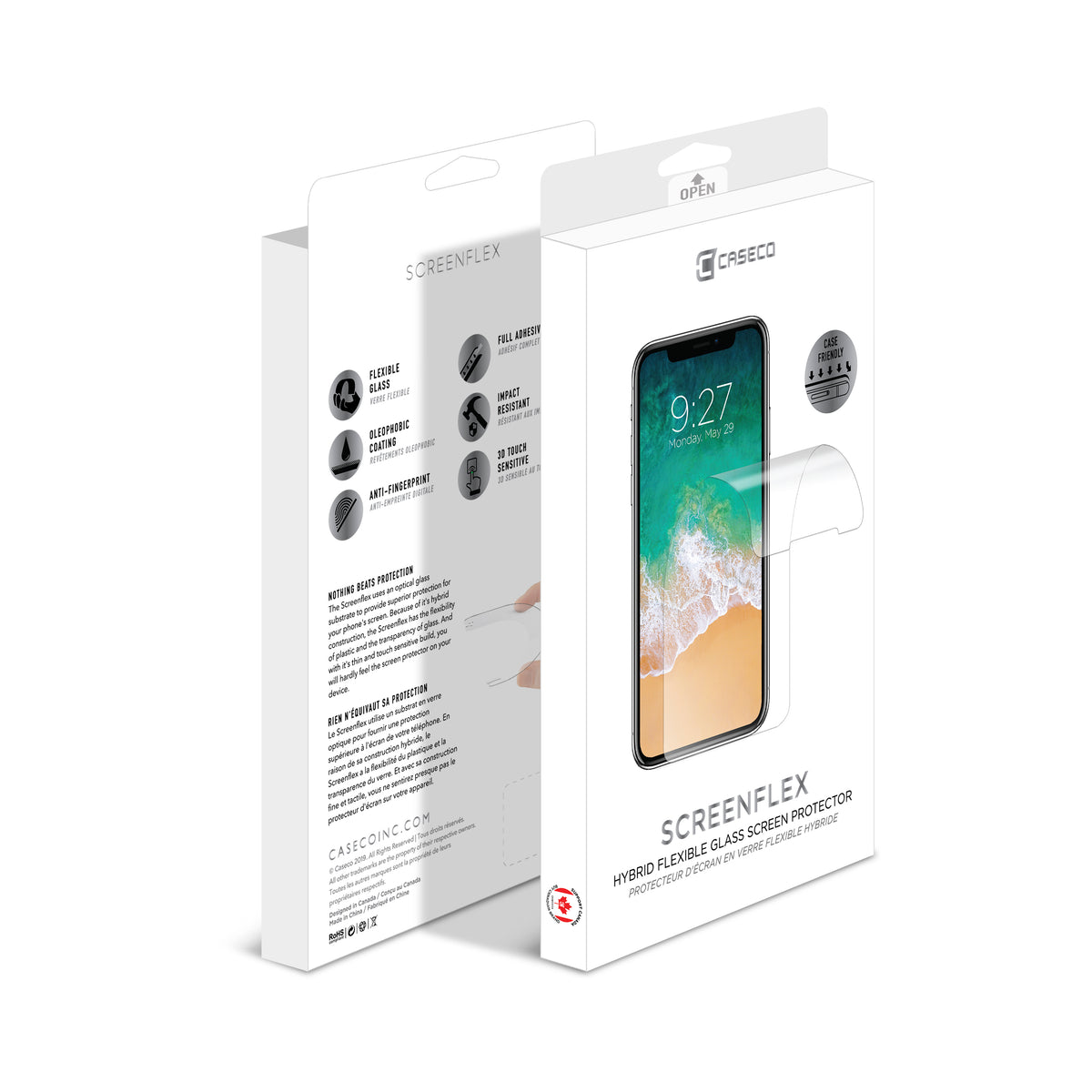 Screenflex - Flexible Screen Protector - iPhone XS Max