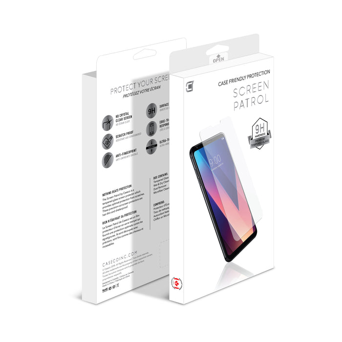 Screen Patrol - Tempered Glass - Google Nexus 5X (BULK ONLY)