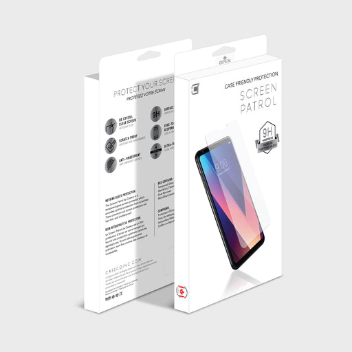 Screen Patrol - Tempered Glass - LG Q Stylo Plus