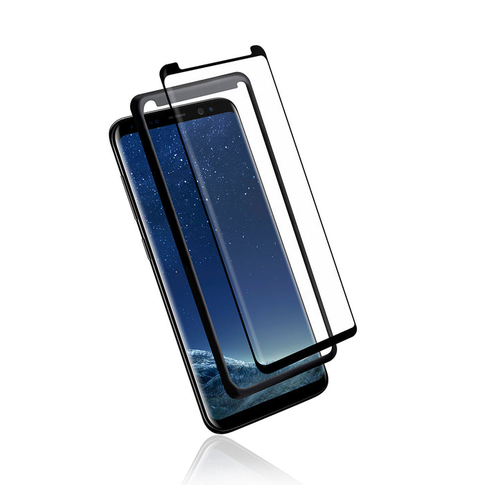 Samsung Note 8 - Full Adhesive Curved Tempered Glass w/ Trey