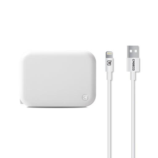 Pulse - 2.4 Amp Wall Charger w/ Slim Tip Lightning Cable