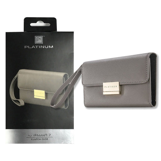 Platinum Clutch Case - iPhone 8 & 7 - Gray