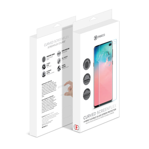 Screenflex - Flexible Glass Screen Protector - Samsung Galaxy S10