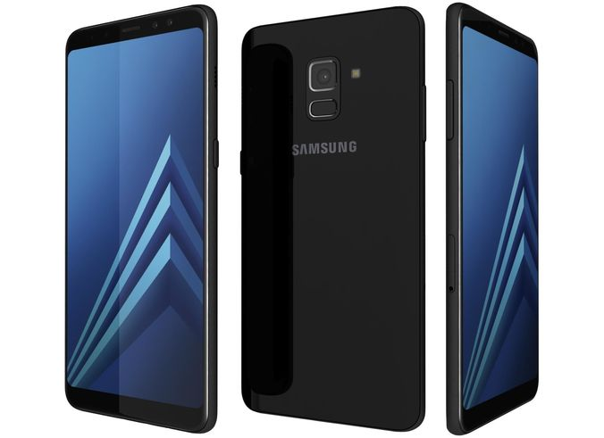 Samsung A8 32GB Unlocked (Carrier Phone) - Black