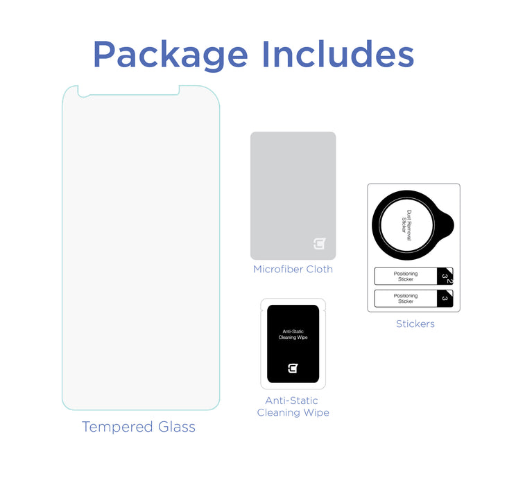 Galaxy A8 (2018)  - Screen Patrol - Tempered Glass(BULK ONLY)