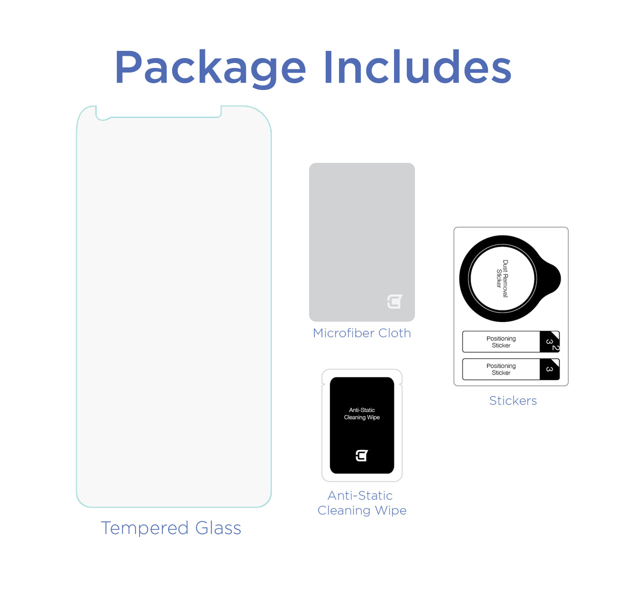 Screen Patrol - Tempered Glass - Galaxy A8 (2018) (BULK ONLY)