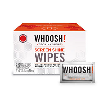 Screen Shine Wipes 12 Pack