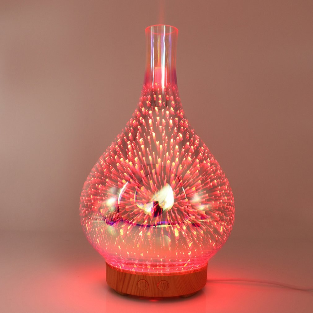 3D fireworks humidifier