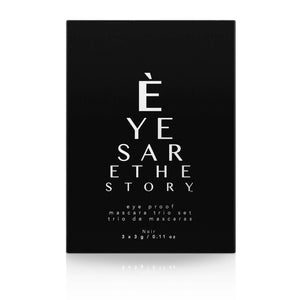 ÈYES ARE THE STORY™ | Eye Proof Mascara (Trio Set)
