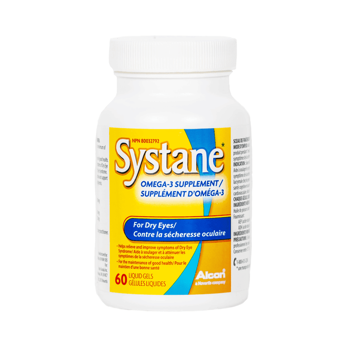 SYSTANE® Omega-3 Supplement Eyedropshop
