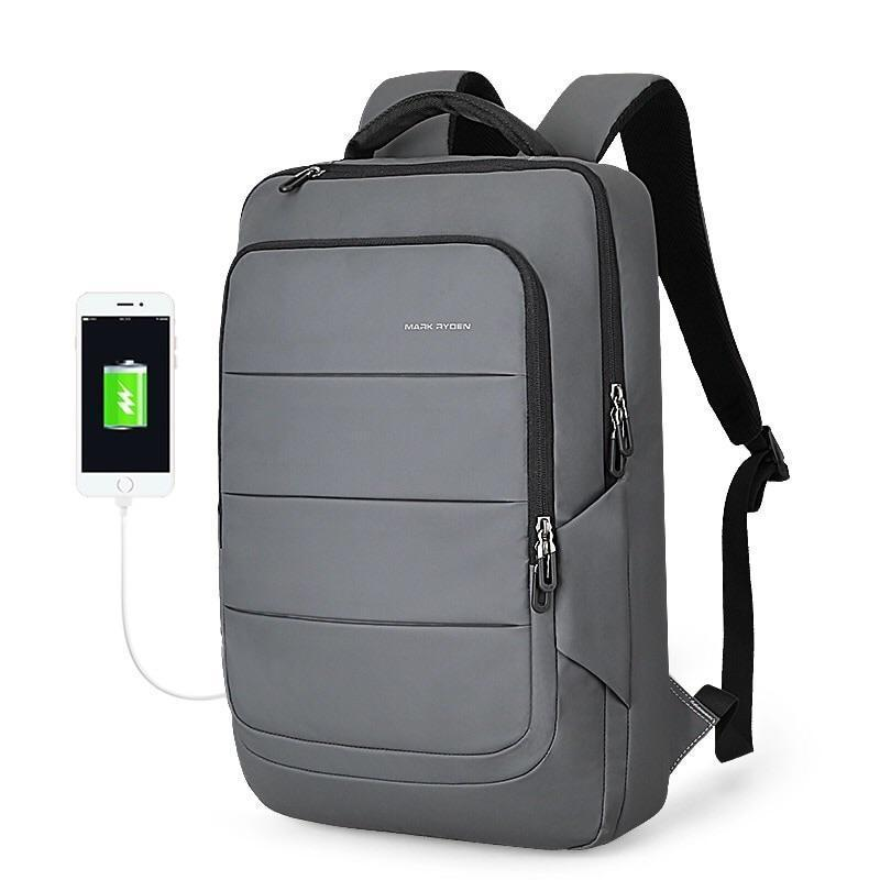 Mark Ryden, laptop backpack, Stripe Laptop Backpack