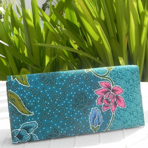 Batik Wallet - Tropical Beauty