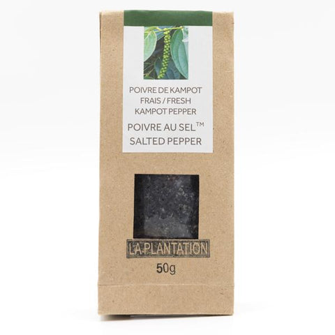 Salted Kampot Pepper 50g