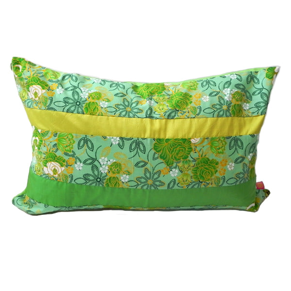 Sarong Floral Green cushion