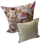 Zig Zag Decorative Cushion - Neutral Tones