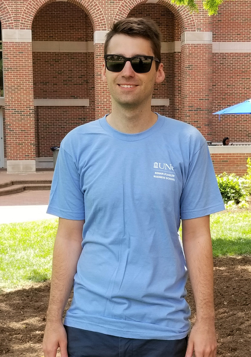 Old Well T-Shirt (Carolina Blue)