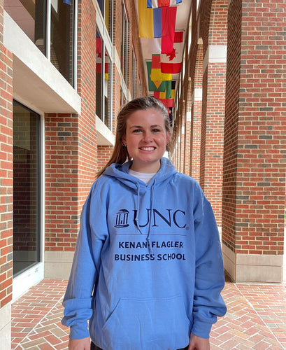 Hooded Sweatshirt (Carolina Blue)
