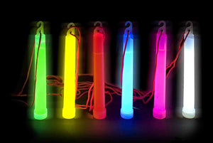 "6"" Glow stick w/Lanyard (Individually Wrapped)"